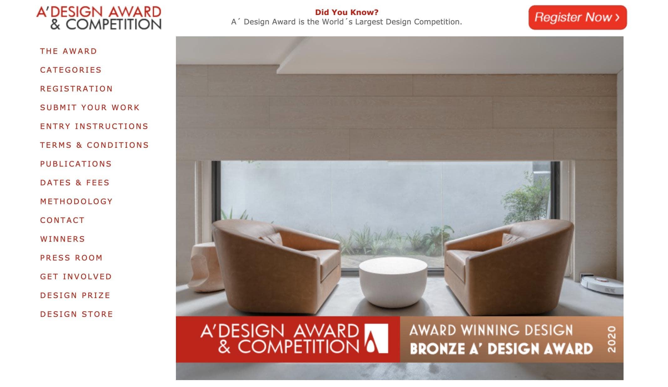 漫雲思境-A'Design Award-室內設計